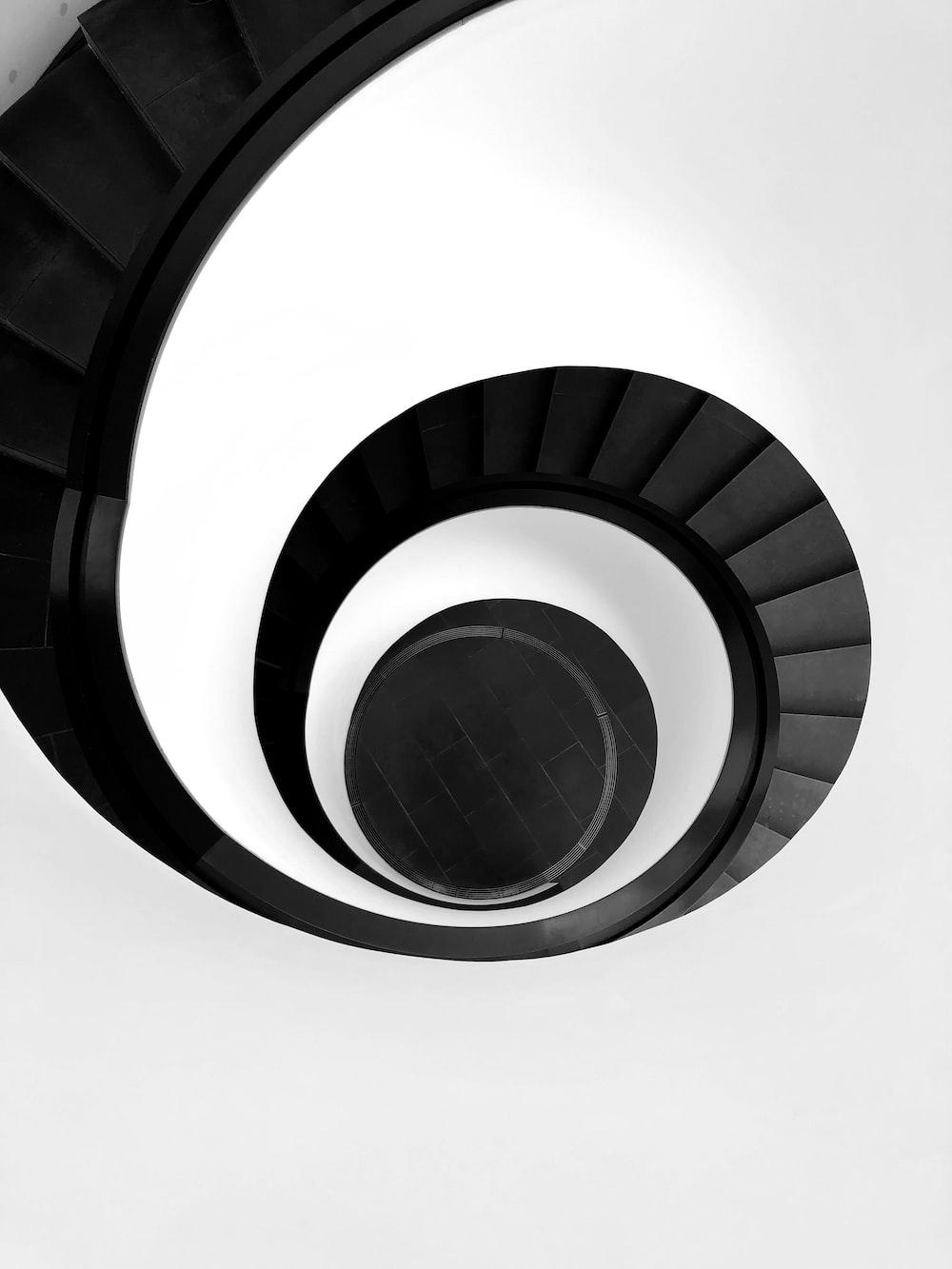 spiral stairway illustration