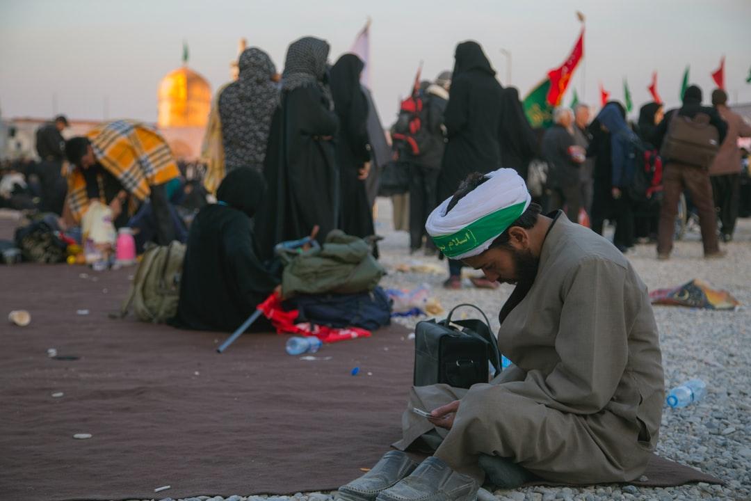 The Arba'een Pilgrimage is the world's largest annual public gathering that is held every year in Karbala, Iraq at the end of the 40-day mourning period following Ashura, the religious ritual for the commemoration of martyrdom of the grandson of Prophet Mohammad and the third Shia Imam, Husayn ibn Ali's in 680. Anticipating Arba'een, or the fortieth day of the martyrdom, the pilgrims make their journey to Karbala on foot, where Husayn and his companions were martyred and beheaded by the army of Yazid I in the Battle of Karbala. 