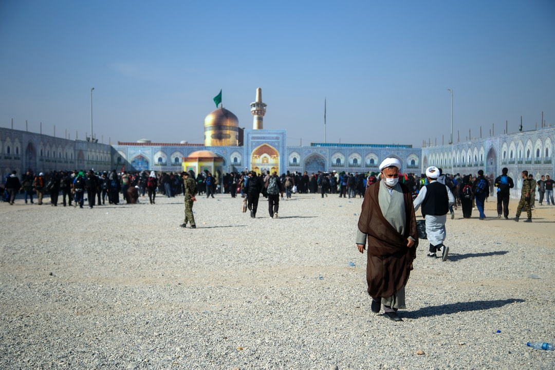 The Arba'een Pilgrimage is the world's largest annual public gathering that is held every year in Karbala, Iraq at the end of the 40-day mourning period following Ashura, the religious ritual for the commemoration of martyrdom of the grandson of Prophet Mohammad and the third Shia Imam, Husayn ibn Ali's in 680. Anticipating Arba'een, or the fortieth day of the martyrdom, the pilgrims make their journey to Karbala on foot, where Husayn and his companions were martyred and beheaded by the army of Yazid I in the Battle of Karbala.  (Mehran, IRAN)