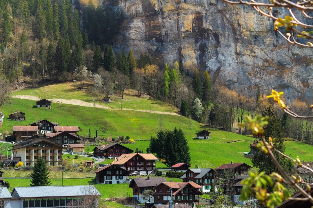 Lauterbrunnen amazing village