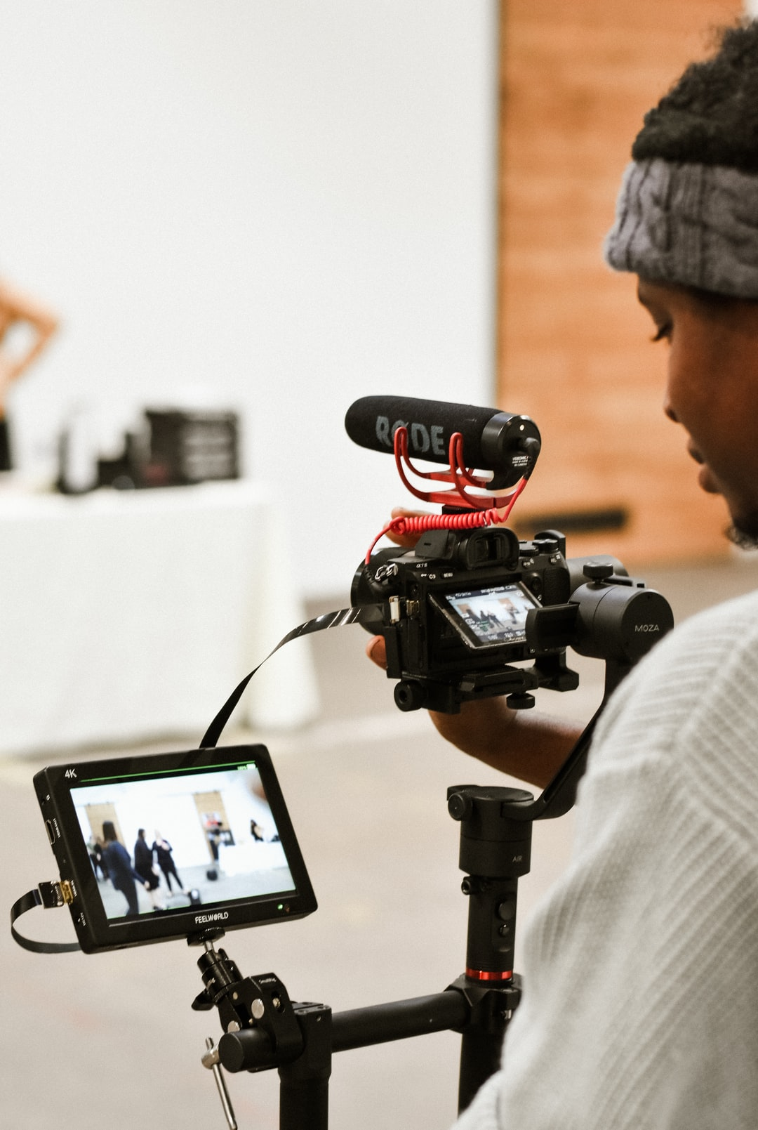 Behind the scenes of videographer Cory of Know Budget Films
