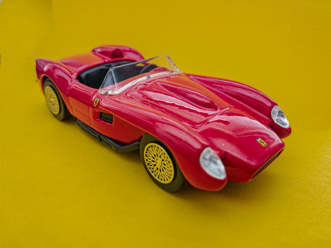I found this old toy Ferrari this week. I used to play with it as I was a child. So I thought get the memories alive and take a cool image if it.