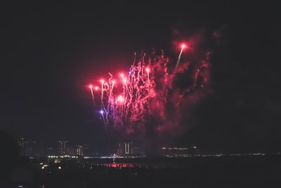 fireworks display eid zoom background
