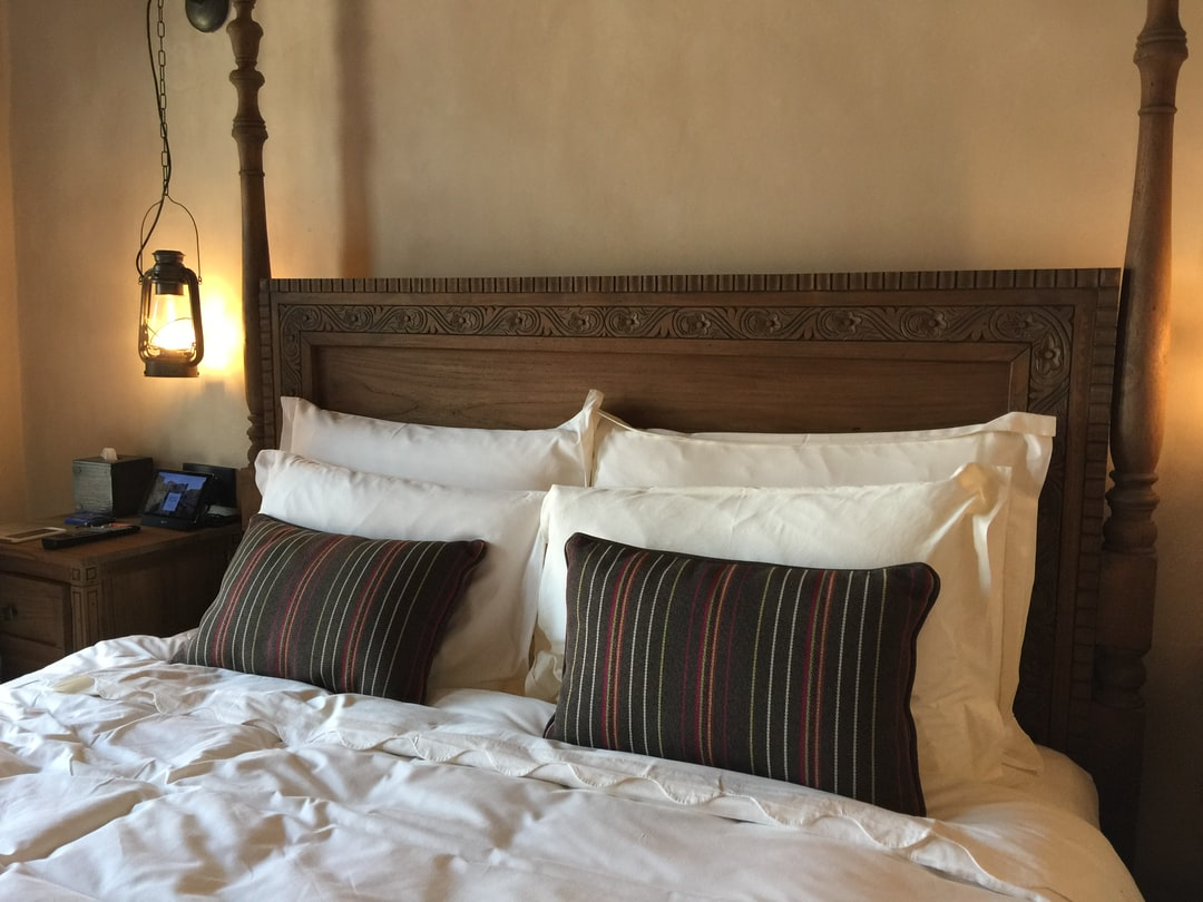 Seef Hotel bed