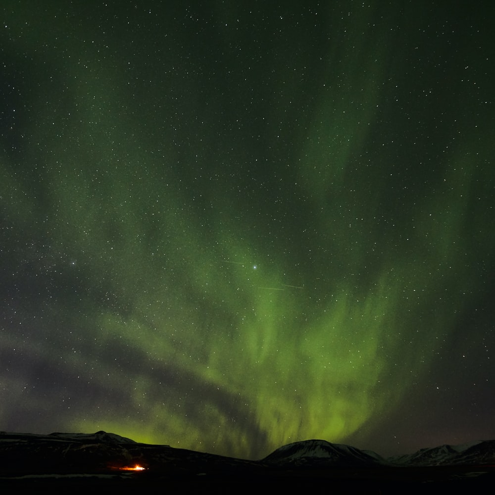 aurora scenery