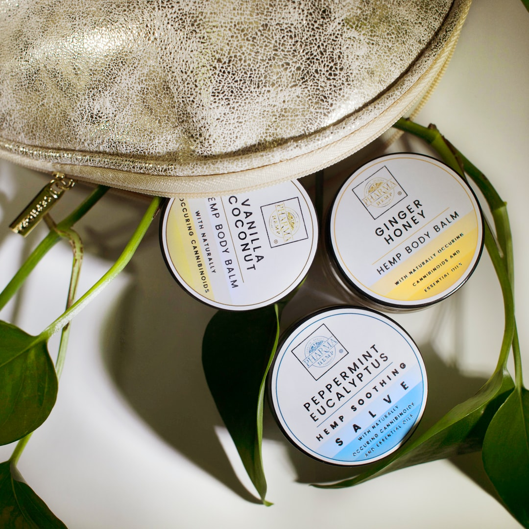Pharma Hemp Complex CBD Oil salves come in three soothing scents and feel amazing. Visit hemphealthinc.com