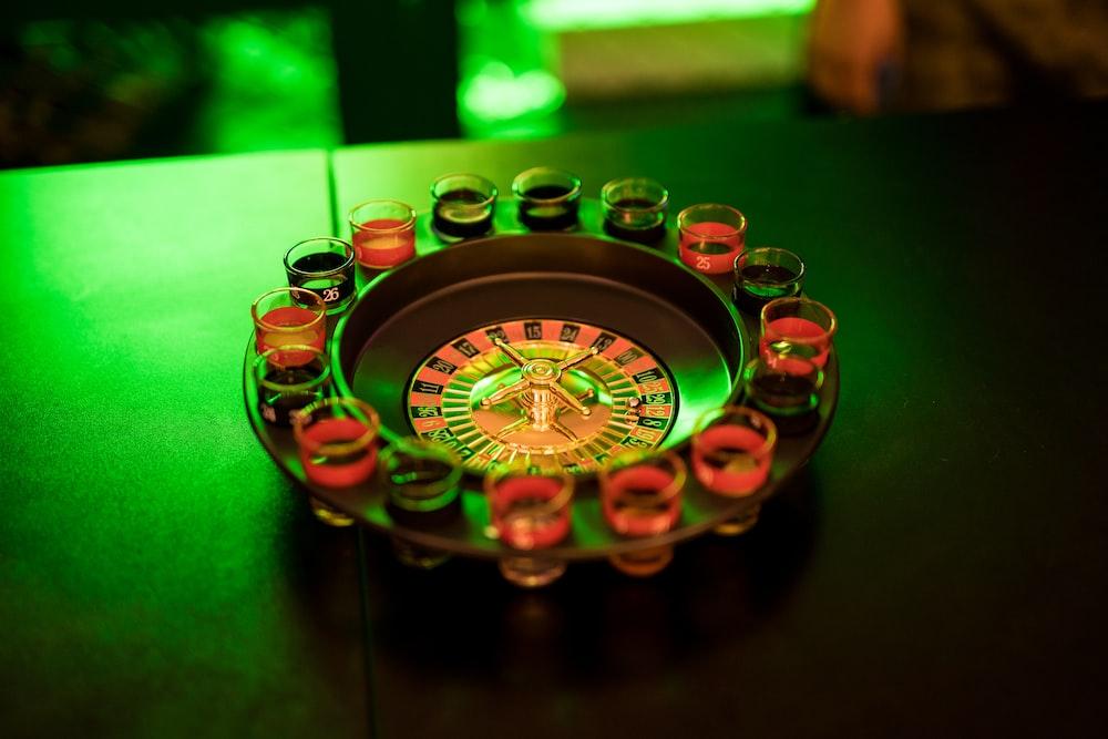shot glass game set