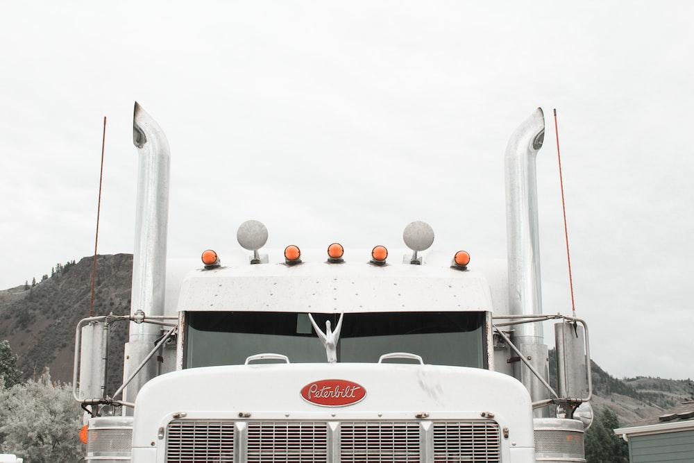 white truck vehicle