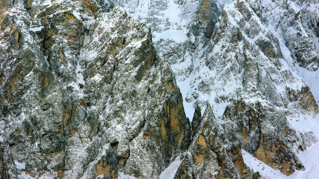 rock mountain during winter <b>season</b> photo – Free Outdoors Image ...
