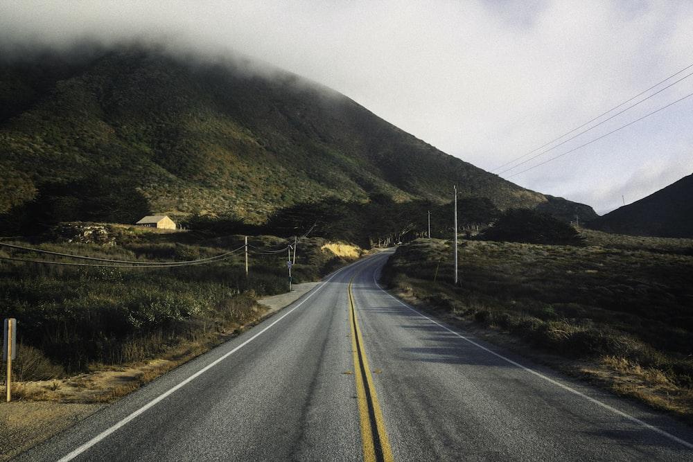 gray road path