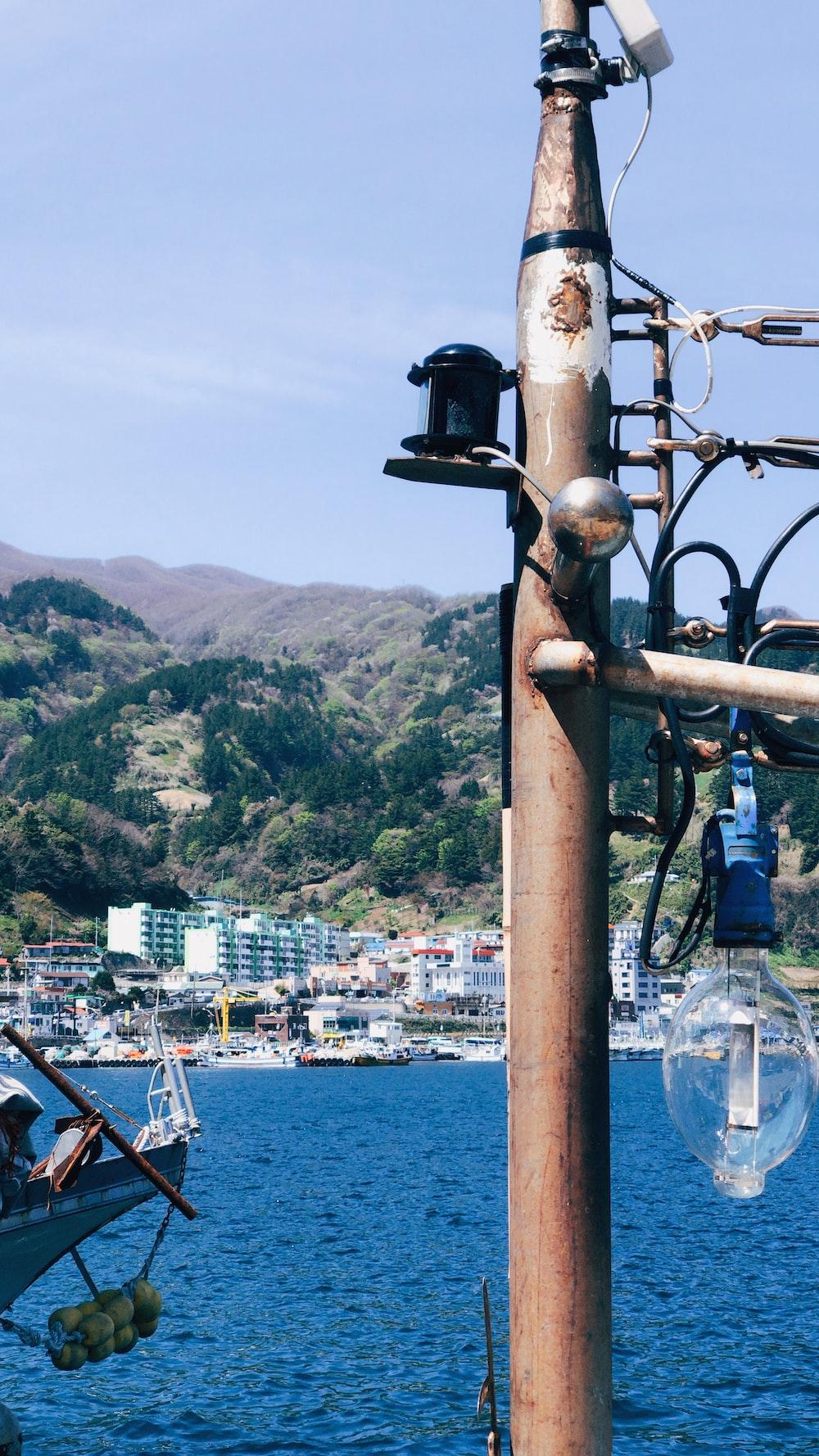 view utility pole