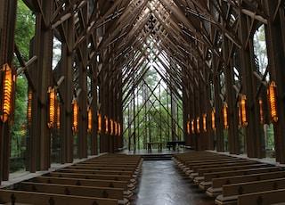 brown building interior