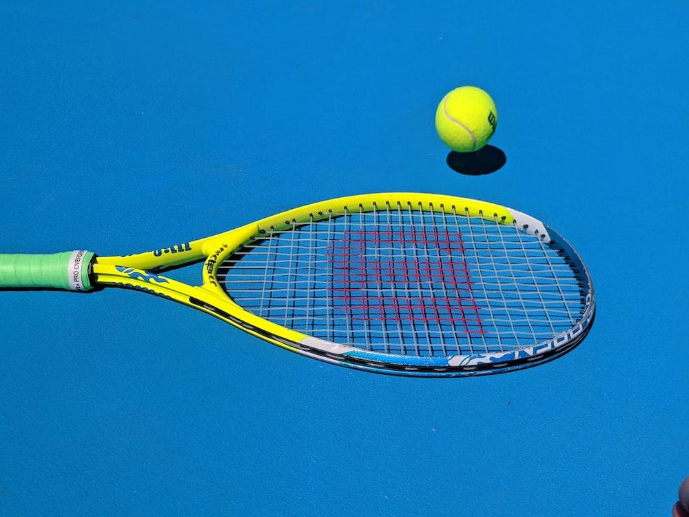 Tennis racket, racket, tennis and ball   HD photo by Josephine