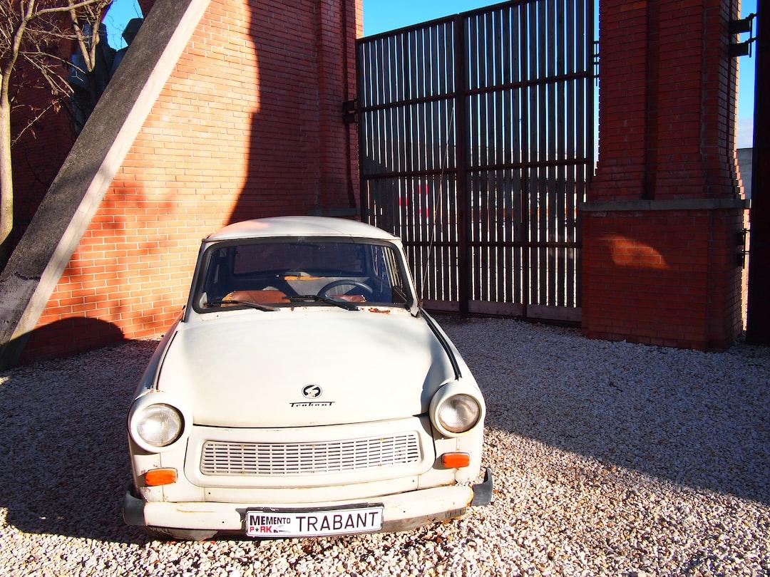 Trabant, a iconic car.