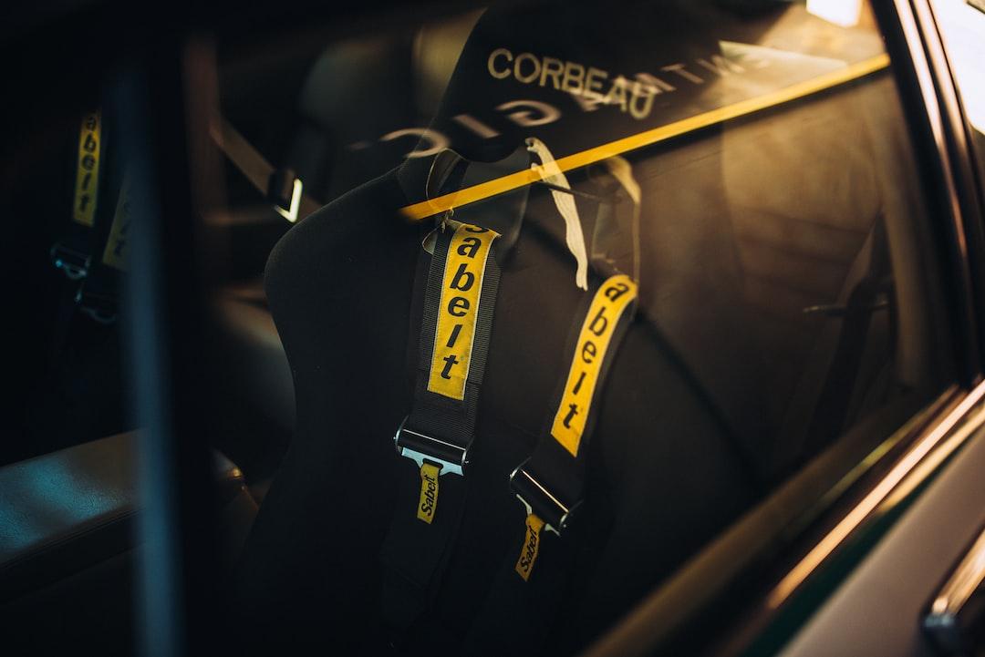 Jaguar XJ converted cockpit to race spec.