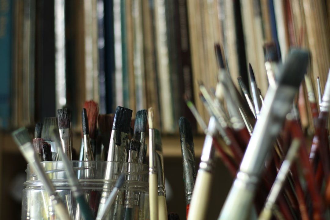 Brushes 'n' Vinyl ...sounds like a great title for a painting!!!