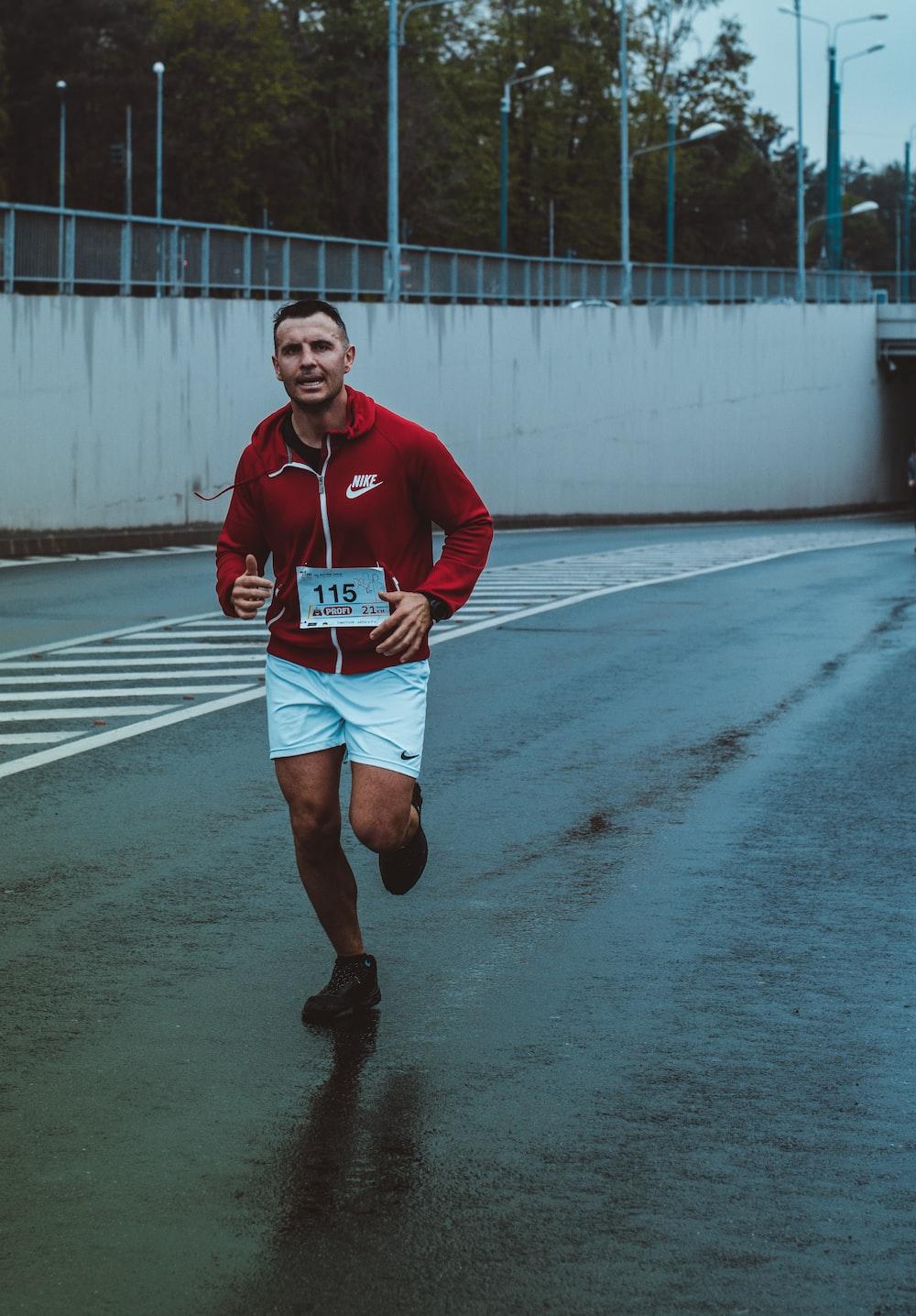 man running during daytime