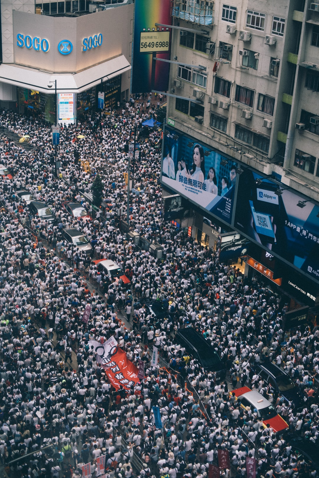 More than 1 million marched in protest against controversial extradition bill, 09/06/2019