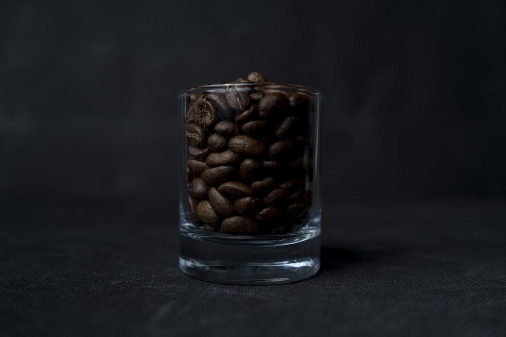 coffee on glass