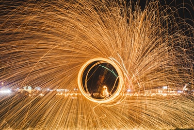 steel wool photography of fireworks eid zoom background