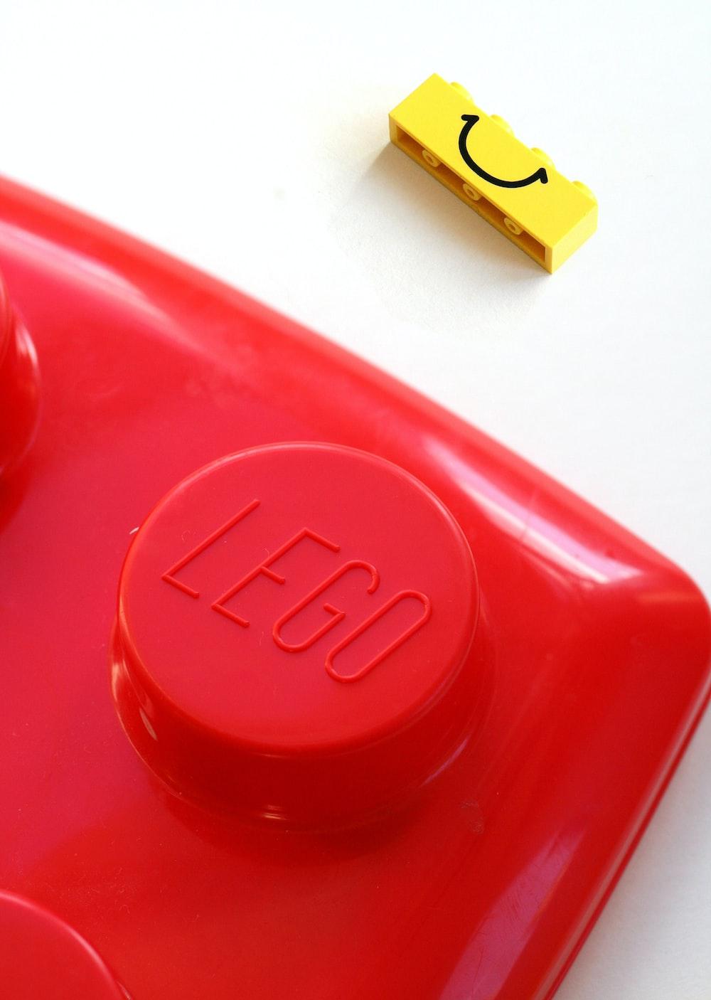 LEGO toy button