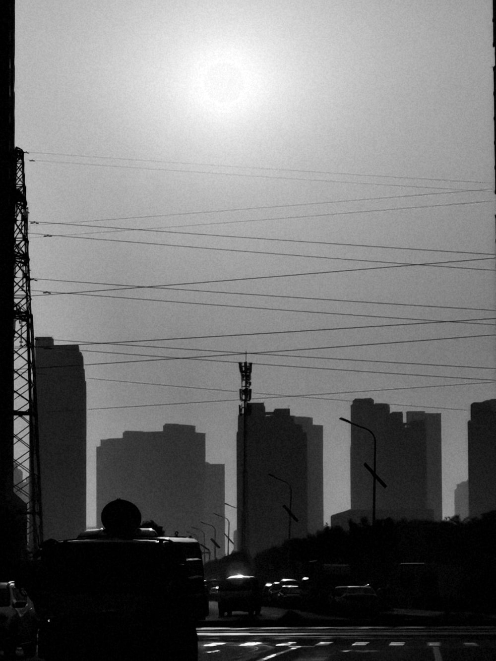 high-rise building under sun
