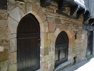 Monestiès petit village du Tarn, France. Monestiès small village in the Tarn, France