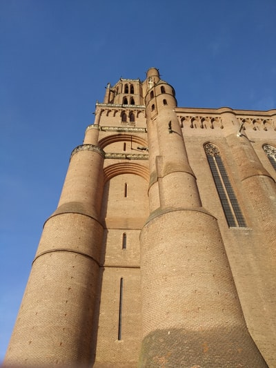 Albi Cathedral in the Tarn