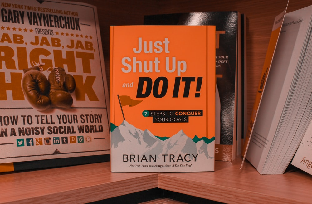 just shut up and do it! book