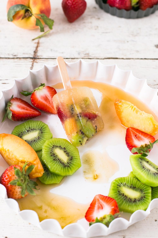 tray of fruits