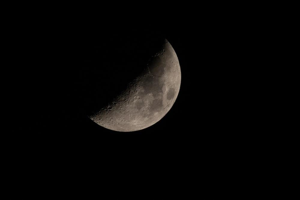photo of moon