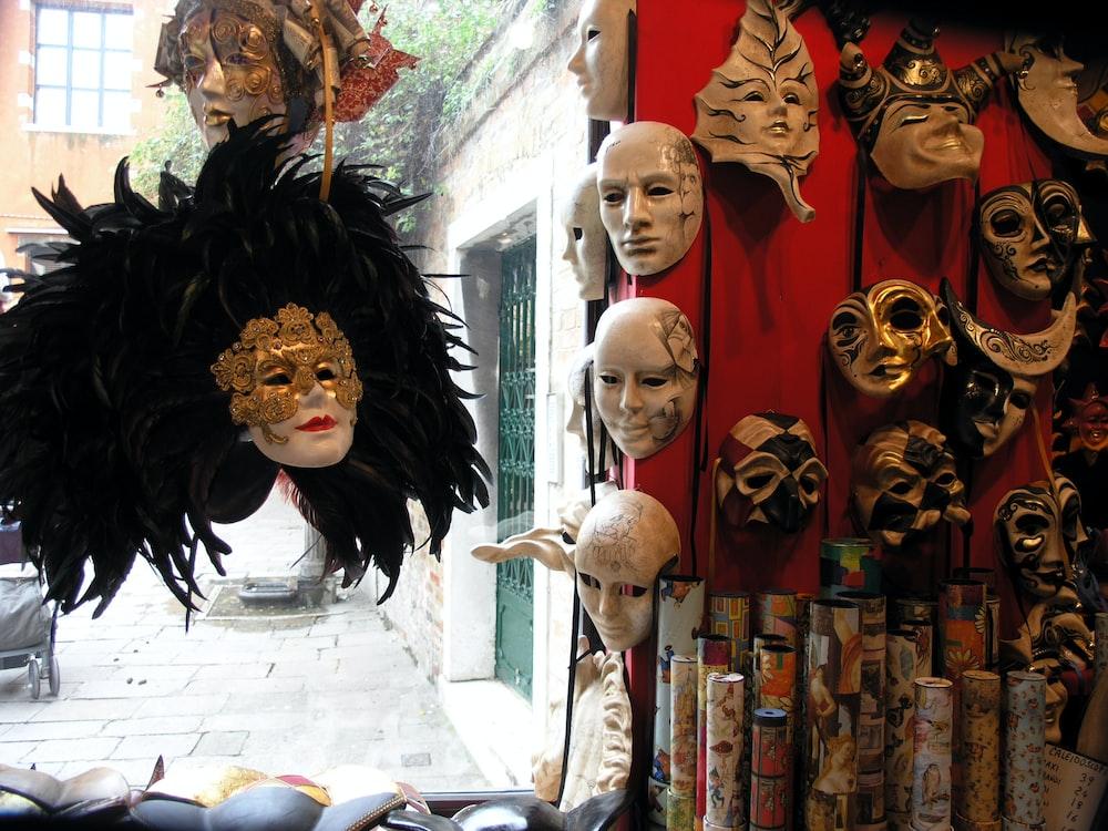 masquerade mask lot
