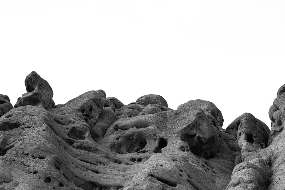 gray stone formation