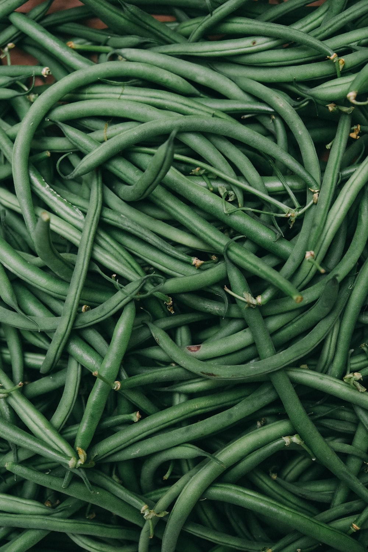 green string beans photo