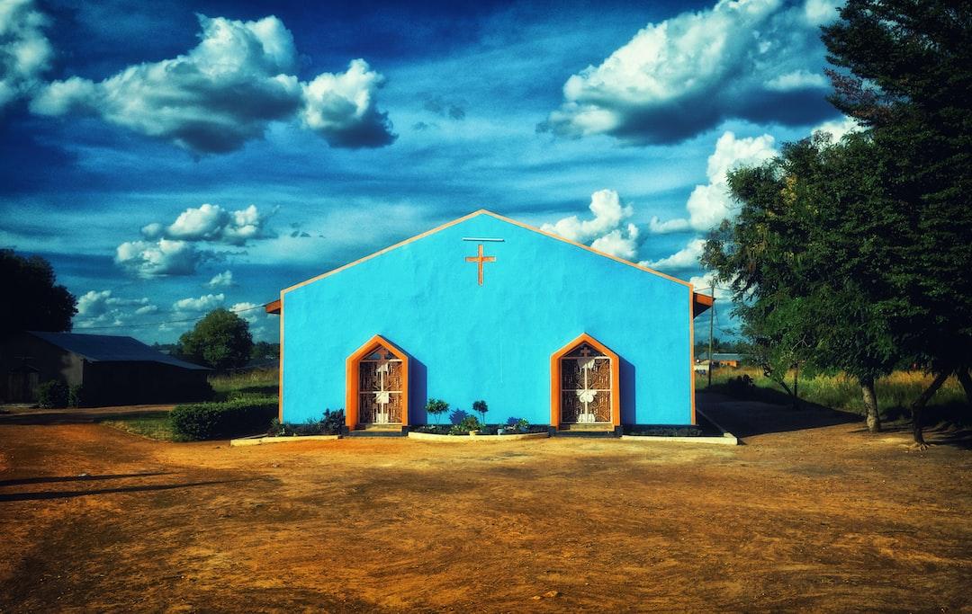Church in Tabora, Tanzania.