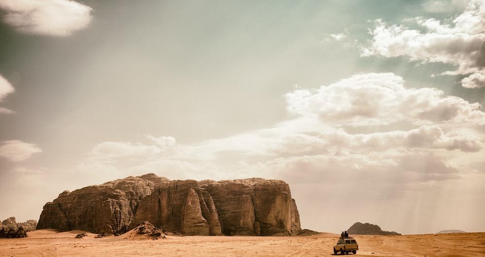 landscape photo of plateau