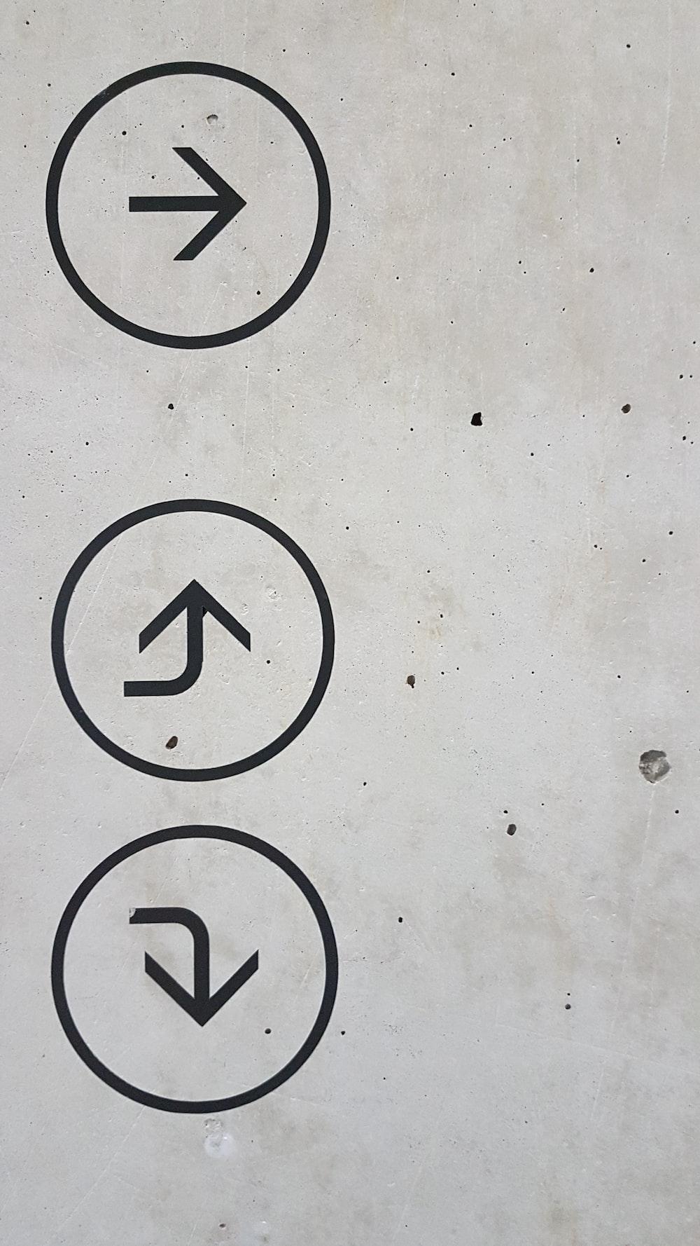 arrow signs