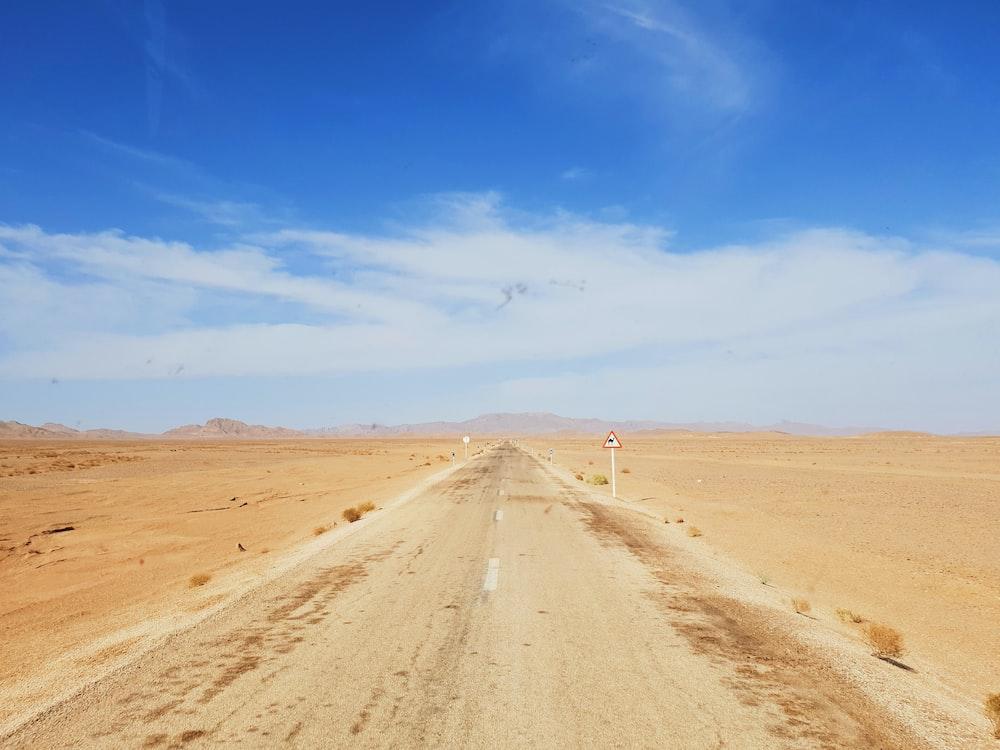 sand pathway scenery