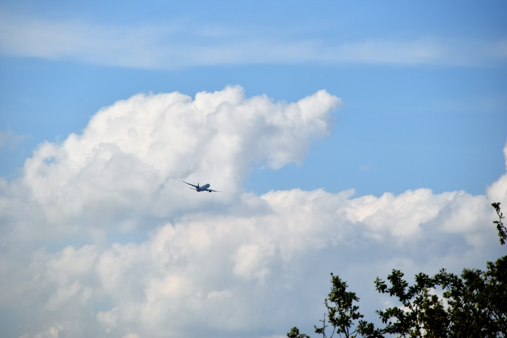 air liner on the sky