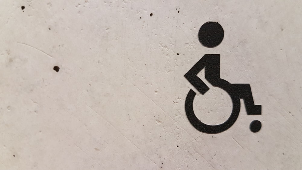wheelchair signage