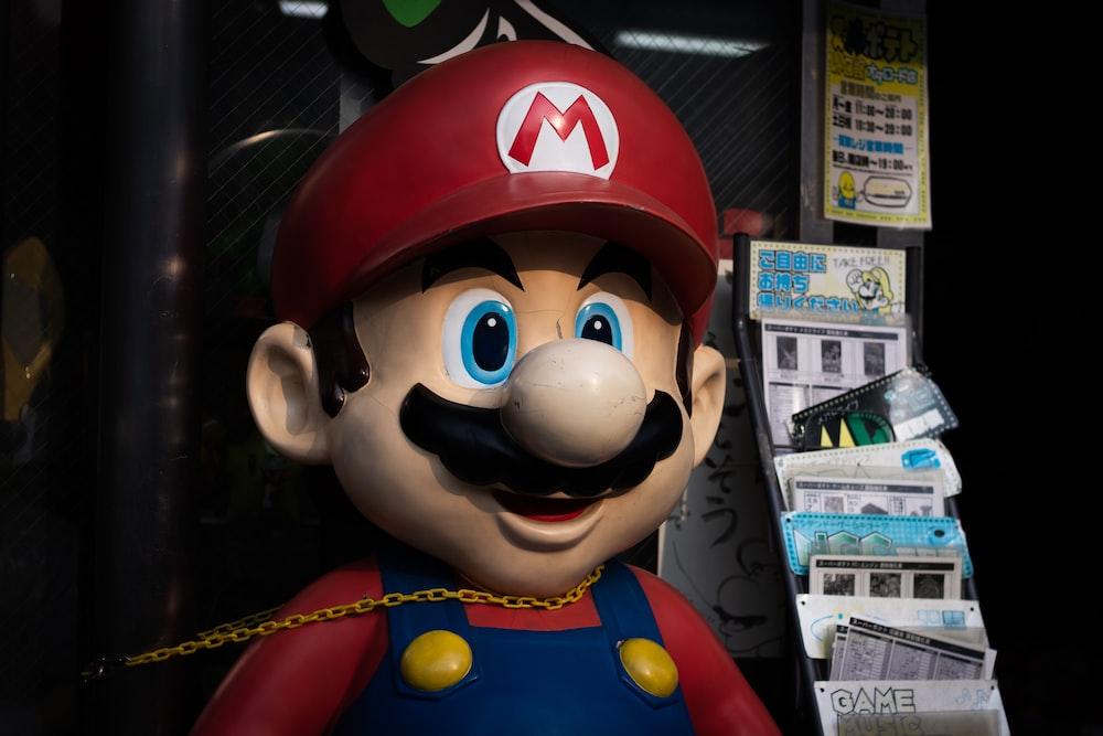Super Mario toy