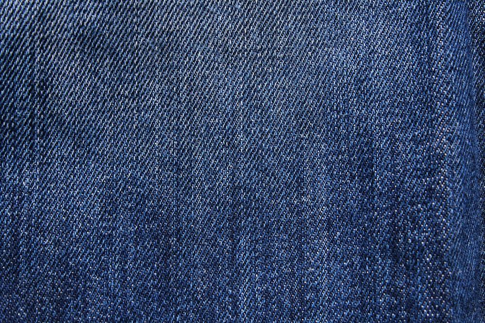 blue denim textile