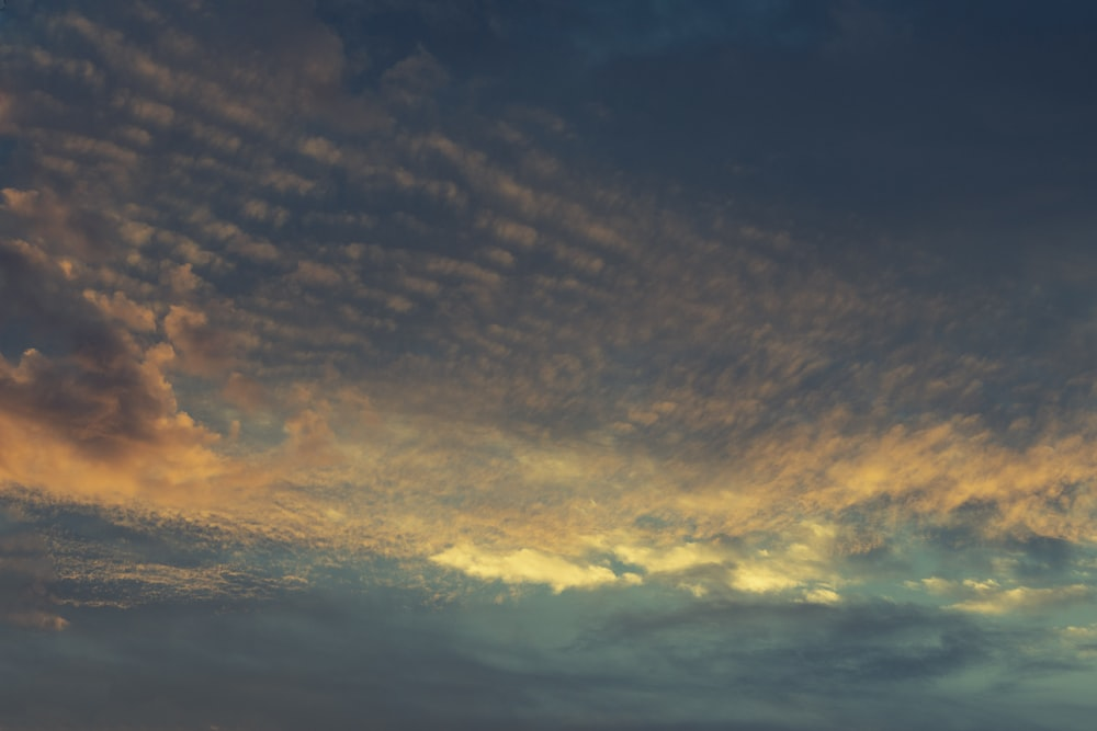 high angle photography of clouds during daytime