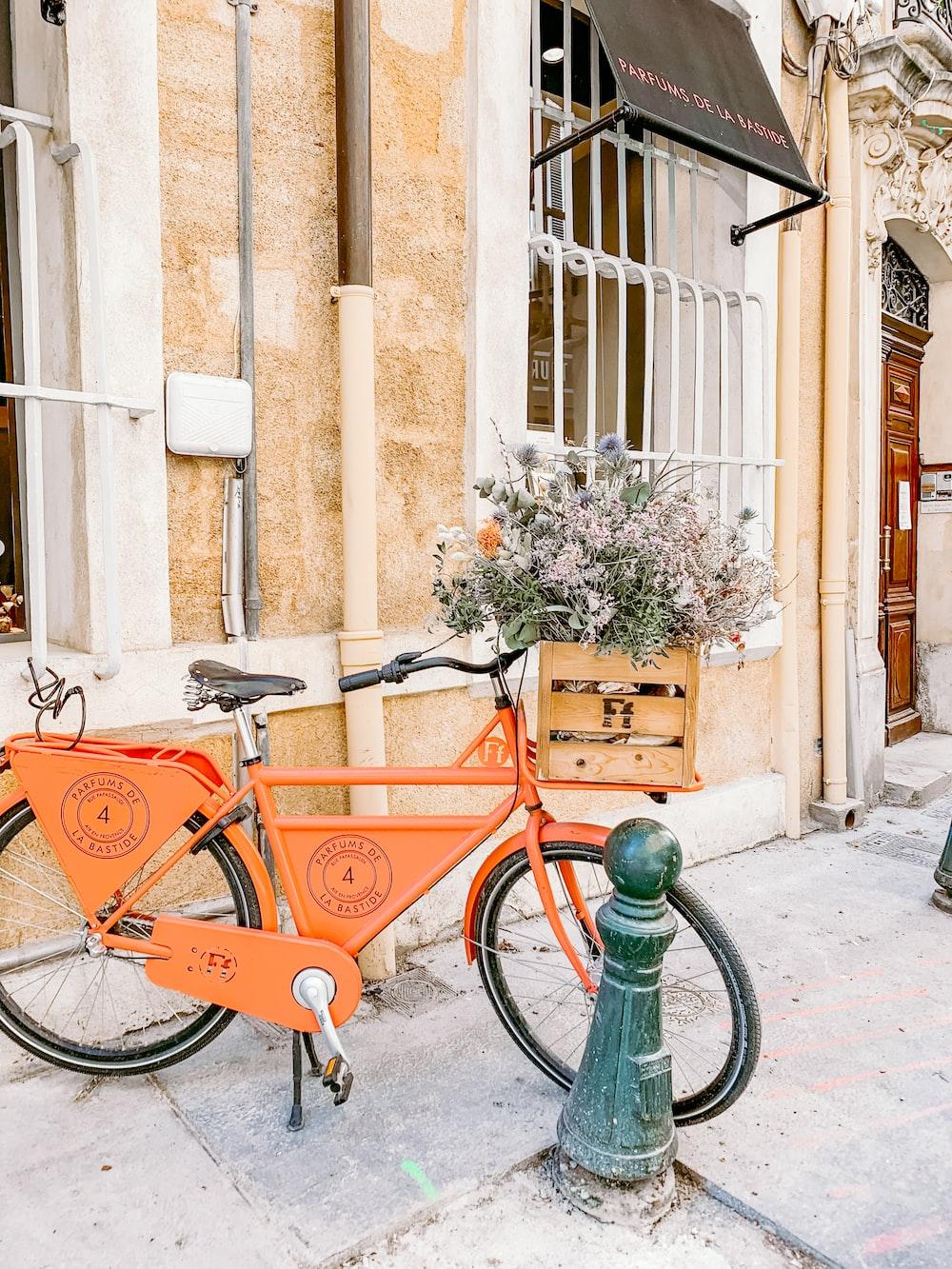 orange city bike