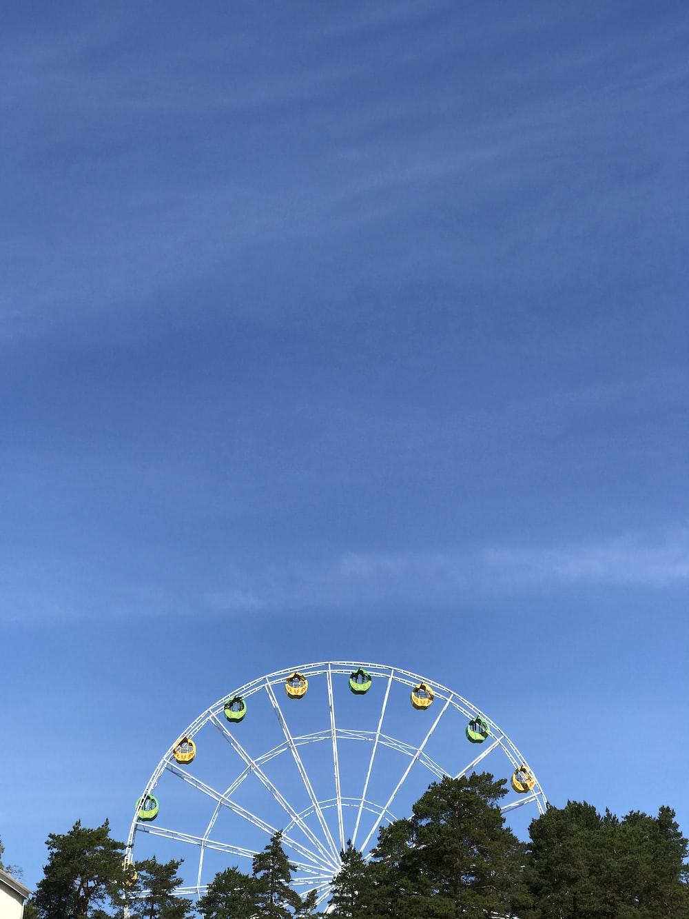 ferris wheel scenery