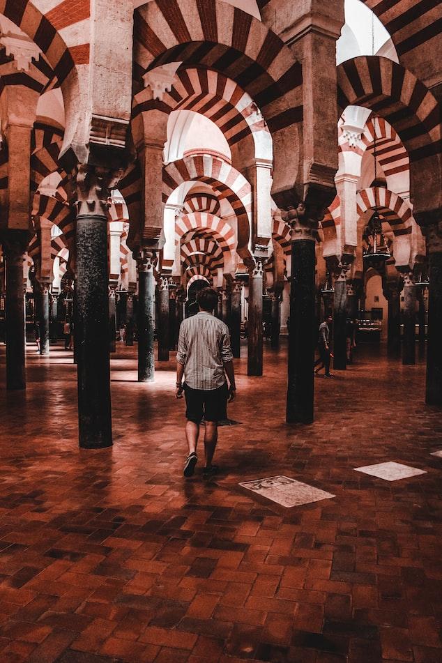 a mosque in Cordoba, Spain