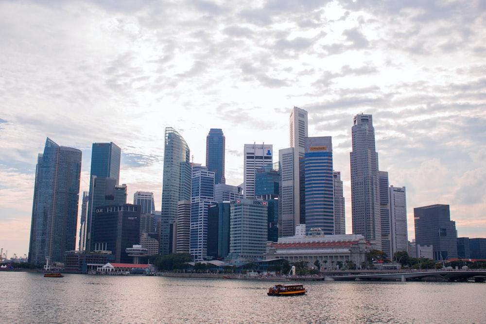 white high-rise buildign