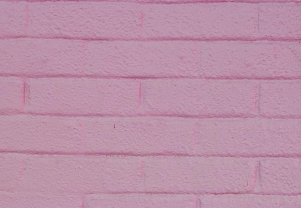 pink brickwall