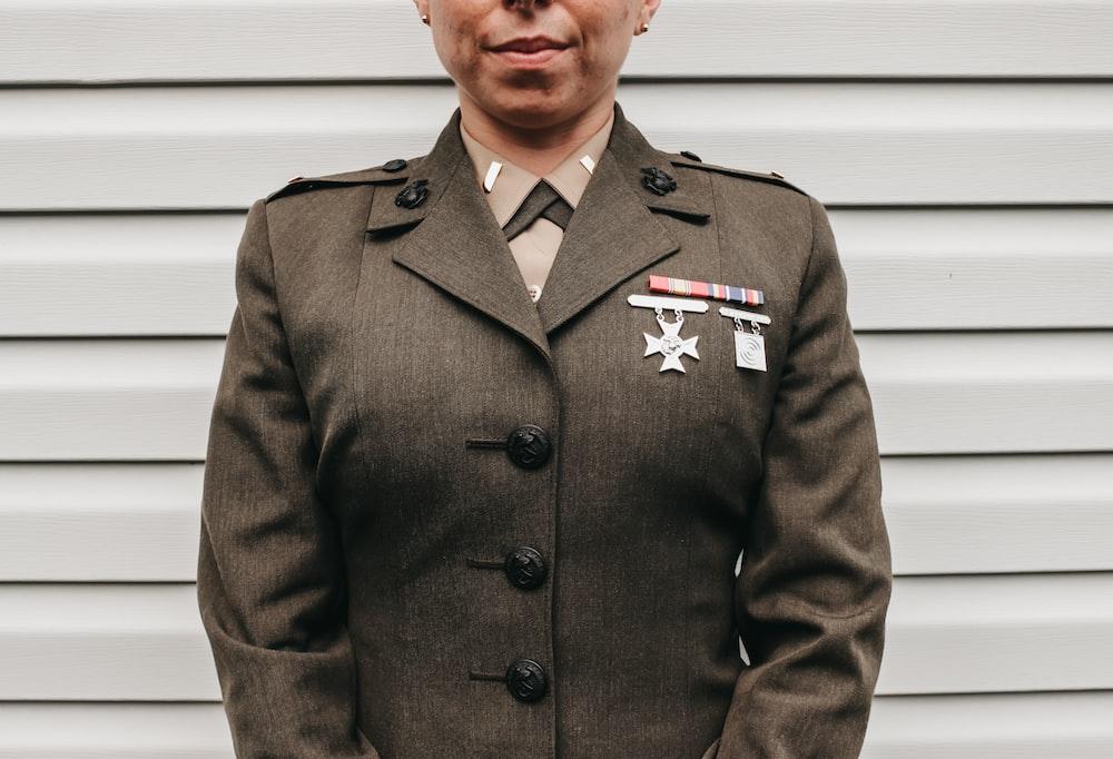 woman wearing sheriff uniform