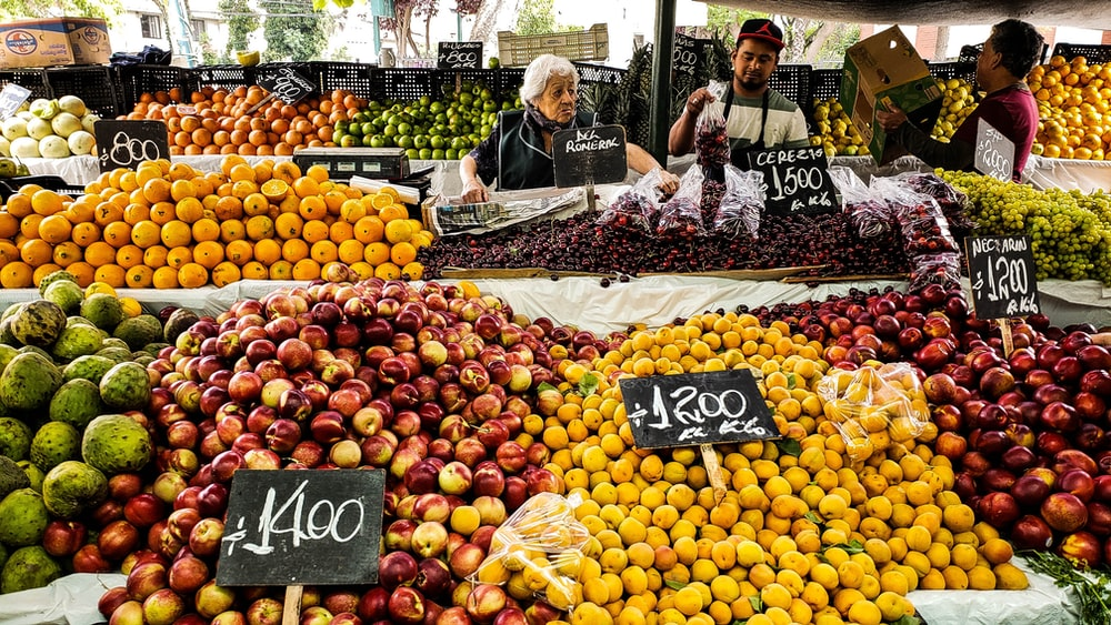 lots of fruits photo during daytime